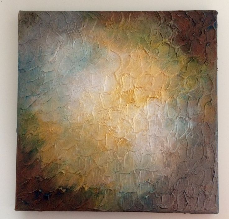 Texturized: Abstract acrylic painting by Bego Ayala