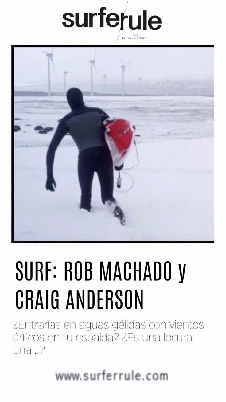 Rob Machado, Craig Anderson dirigen al norte de la isla de Japón en busca del clima nevado y el surfing de invierno.