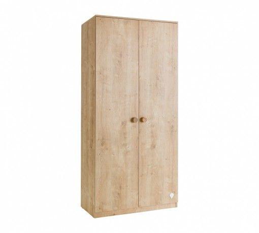 Mocha 2 ajtós Szekrény #gyerekbútor #bútor #desing #ifjúságibútor #cilekmagyarország #dekoráció #lakberendezés #termék #ágy #gyerekágy #mocha #szekrény