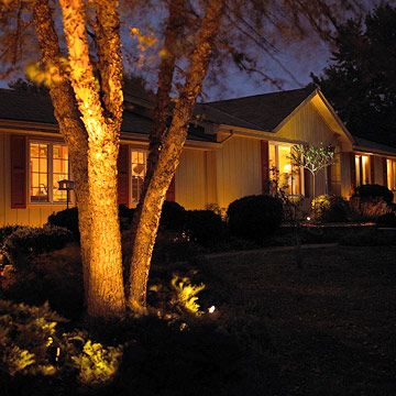From spotlighting trees to highlighting pathways, landscaping lights add beauty and safety to your outdoor spaces: http://www.bhg.com/home-improvement/lighting/outdoor/landscape-lighting-ideas/?socsrc=bhgpin060714landscapinglights