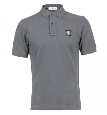 Stone Island Patch Polo Shirt