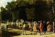 "New artwork for sale! - "" Meissonier Jean Louise Ernest Playing Jeu De Boules by Jean Louis Ernest Meissonier "" - http://ift.tt/2p2t8rE"