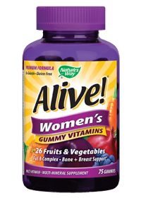 Alive! Women'S Gummy Vitamins by Nature's Way - Buy Alive! Women'S Gummy Vitamins 75 Gummies at the vitamin shoppe