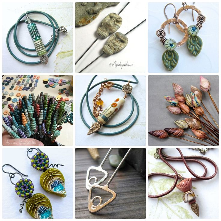 Art Jewelry Elements: Art Headpins Challenge Inspiration...Are You Up For It?