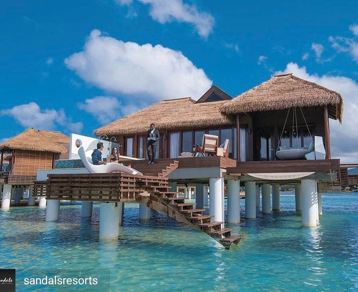 Sandals Royal Caribbean   Overwater Bungalows