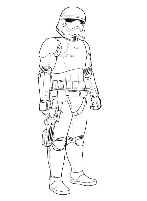 Star Wars Character Outlines : character, outlines, Stormtrooper, Coloring, Pages, Book,, Drawings,, Sheet