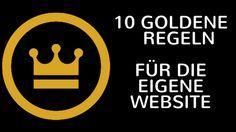 New Post: 10 goldene Regeln für die eigene Homepage