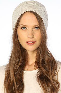 The Cameron Beanie in White hat by Coal - $30