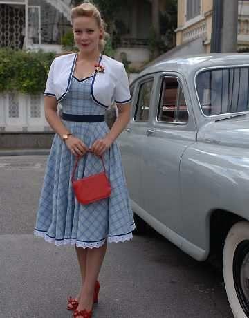 moda pin up vestidos anos 60