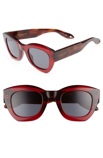Main Image - Givenchy 48mm Cat Eye Sunglasses   Óculos   Pinterest   Óculos  e Utilidades 223857ec50