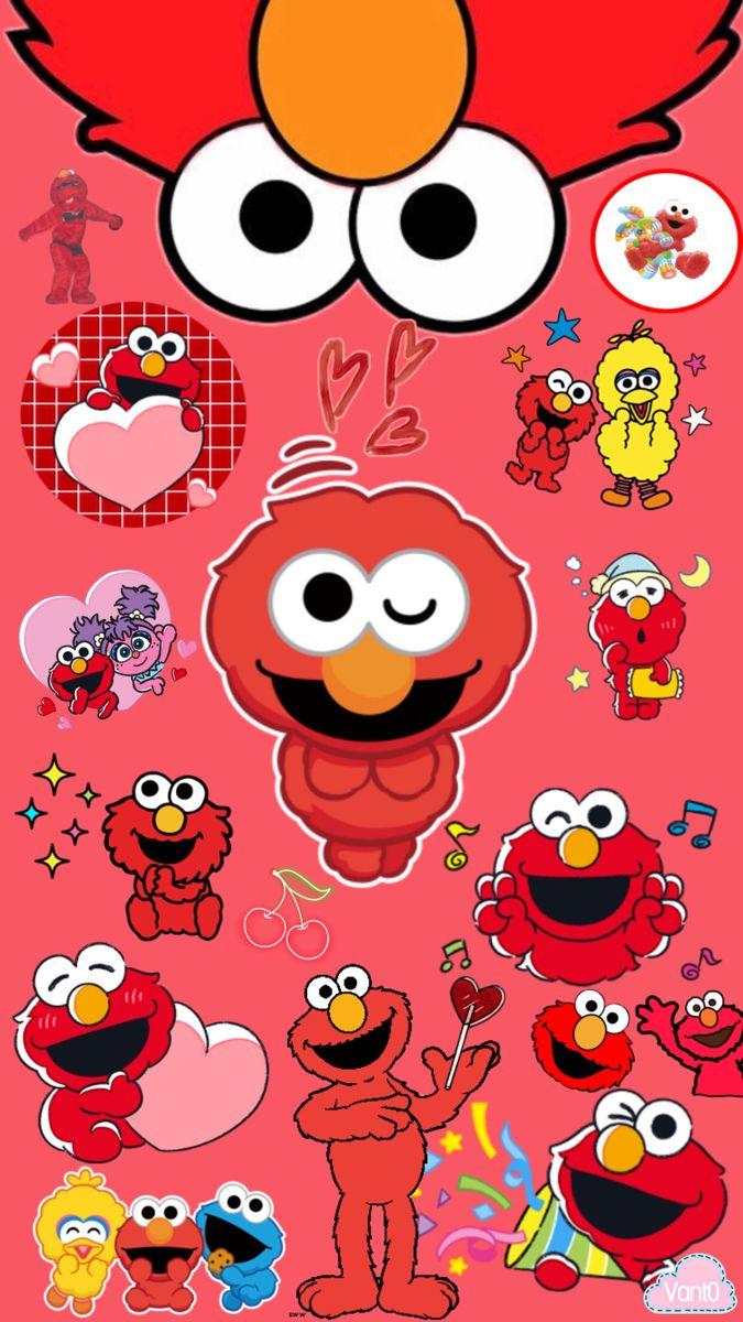 Elmo S World Edit By Vant0 Seni Buku Seni Seni Inspirasi