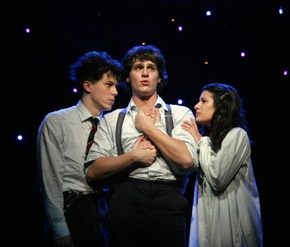 Spring Awakening - John Gallagher Jr., Jonathan Groff, and Lea Michele.