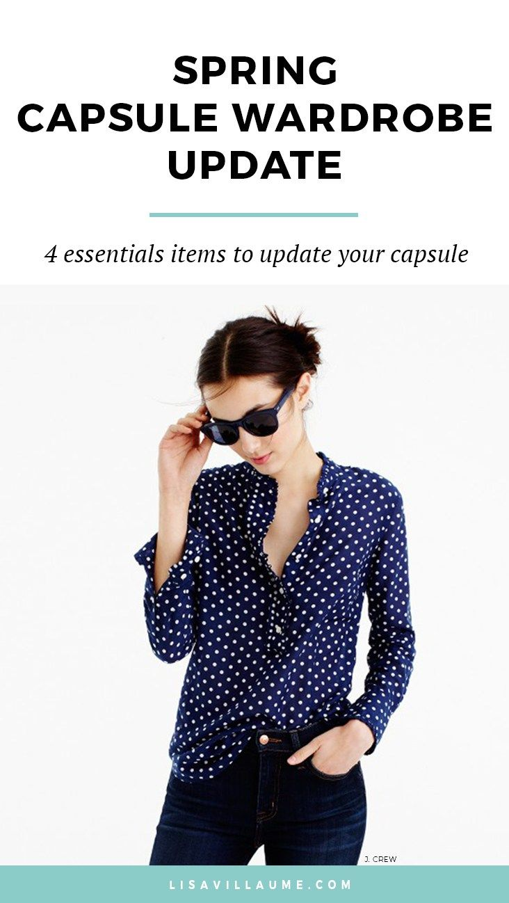 With spring just around the corner, it's time to start planning a spring capsule wardrobe update and my current style wish-list.