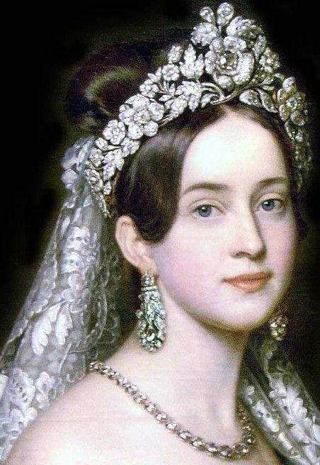 Diamond Flower Tiara of Queen Amelie of Greece