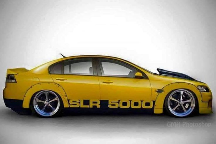 ◆ Visit MACHINE Shop Café... ◆ ~ Aussie Custom Cars & Bikes ~ (SLR 5000 Holden Commodore)
