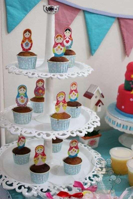Matryoshka party Birthday Party Ideas | Photo 1 of 14 | Catch My Party