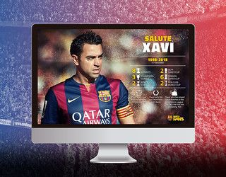 All the goals by... Xavi Hernández | FC Barcelona