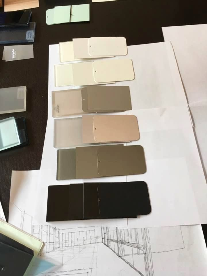 All colors on all surfaces: at work with an important architecture studio to create new office projects with Manerba color system.