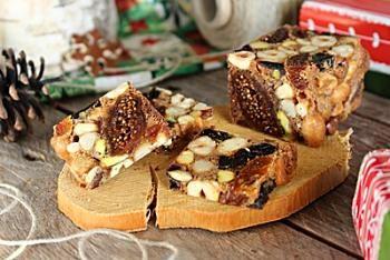 Рецепт фруктово-орехового кекса / Меню недели