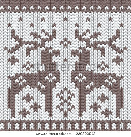Ornamental Pattern For Knitting And Embroidery Stock Photos, Ornamental Pattern…