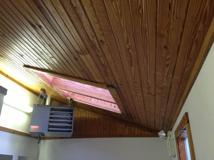 back porch ceiling / sky light? seen at Bethpage (Battle Row) campground, women's room ...