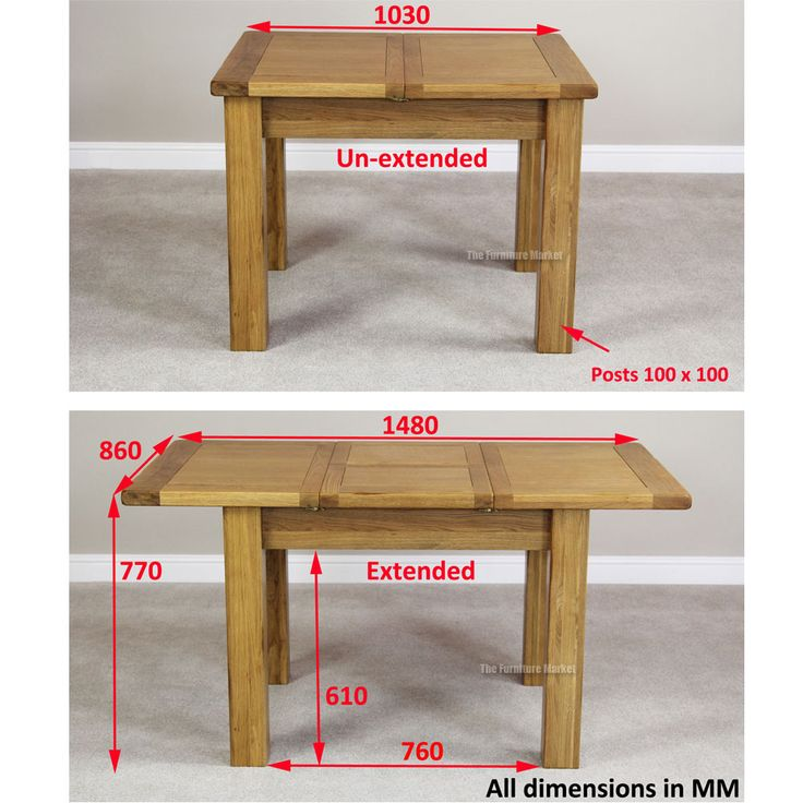 Wooden Kitchen Table Dimensions   Google Search Part 65