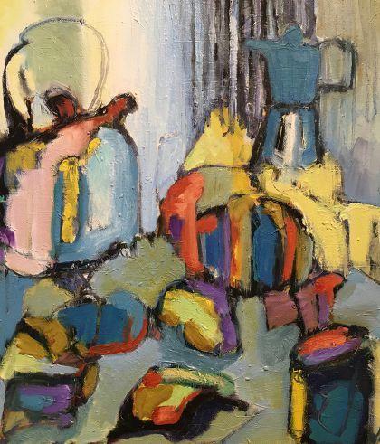 Breakfast Table II painting