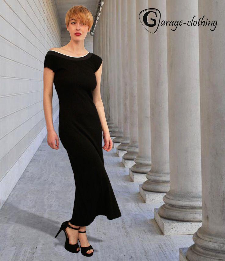 #maxi #black #dress