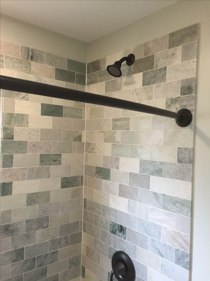 infinity drain multicolor subway tiles with basket weave mosaic tile floor pedestal sink with dragon