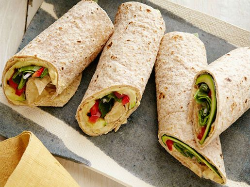 Mediterranean Vegetable Grilled Wrap Recipes — Dishmaps