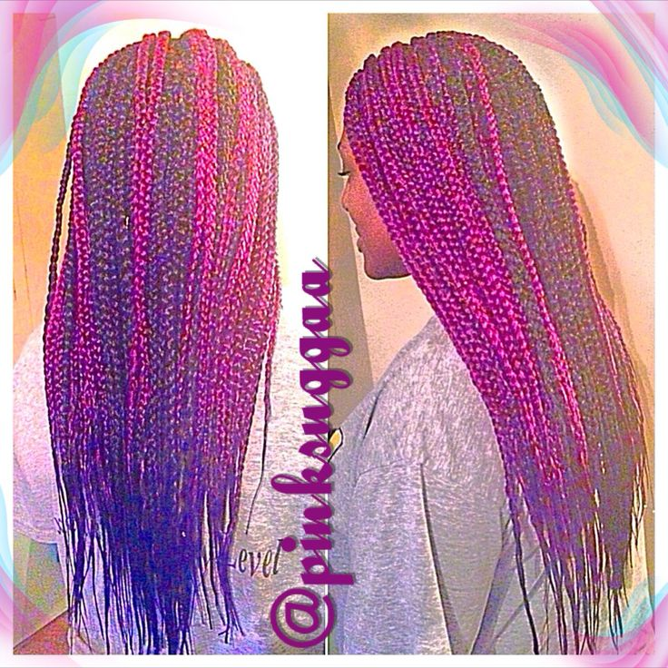 Purple Crochet Box Braids : about Purple Box Braids on Pinterest Box braids, Grey box braids ...