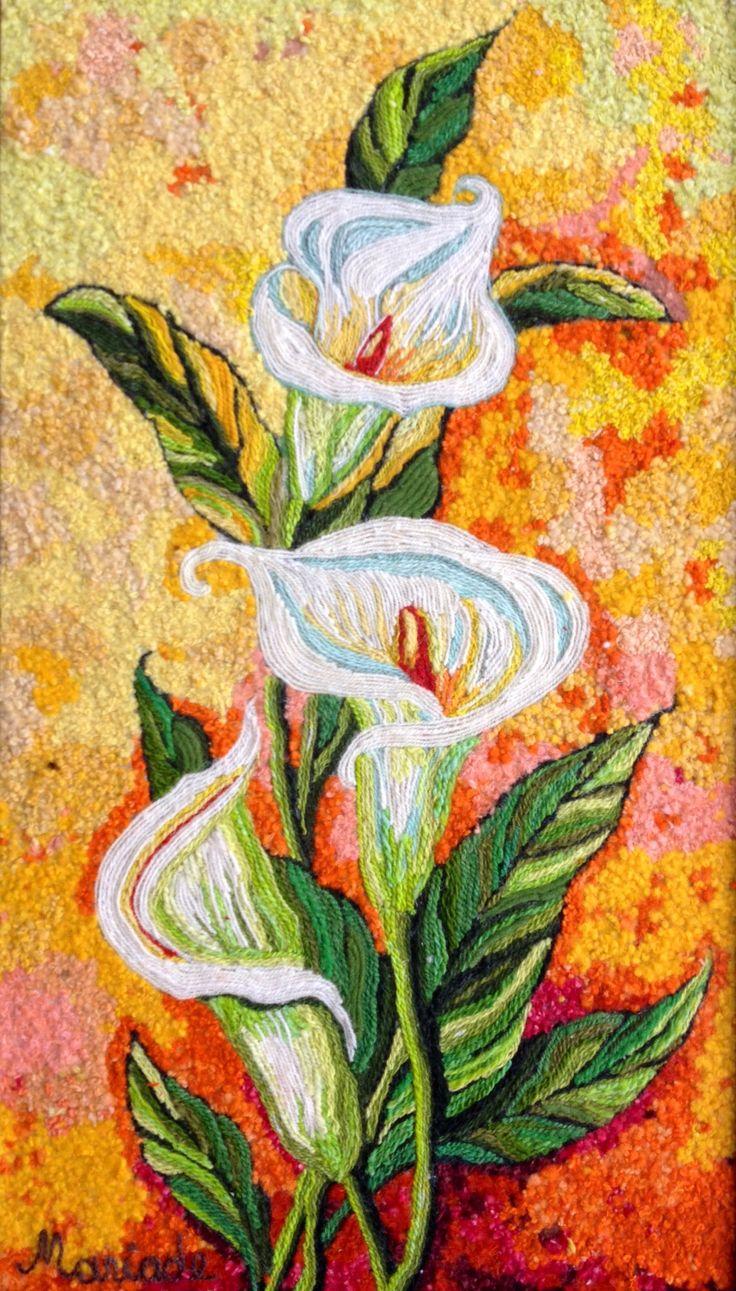 Cartuchos por Mari Delia de Diaz del Taller de Collage en Lana