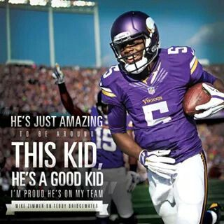 Teddy Bridgewater is the future for the Vikings