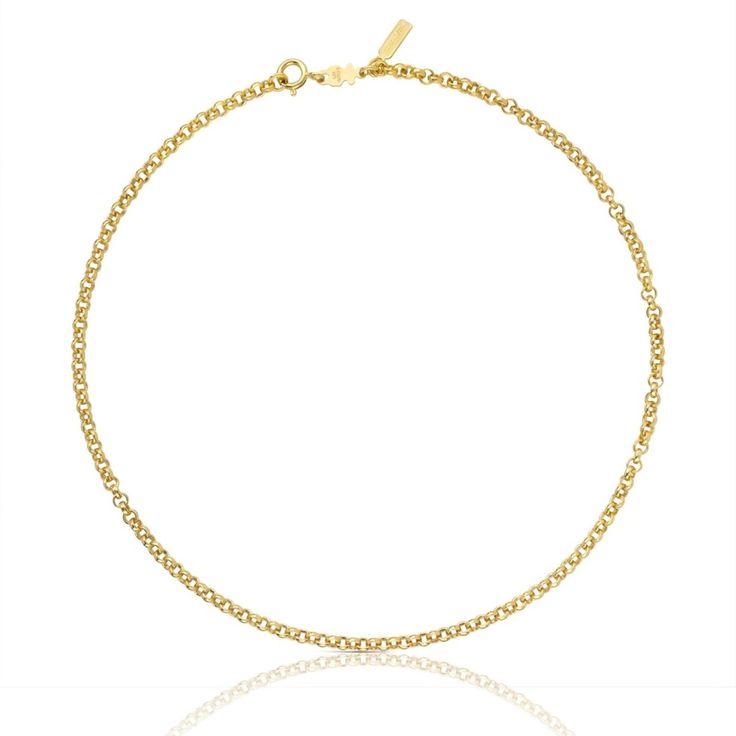 Łańcuszek Tous ze złota vermeil o długości 40 cm