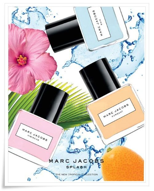Marc Jacobs Splash Tropical Collection