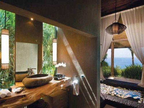 Interior Ideas #19 ? Bali Villas and their Designs Interiorforlife.com natural stones in the villas