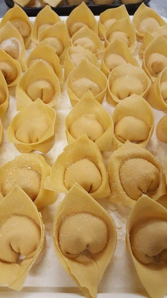 We're straight into making fresh handmade ravioli for tonight. See you at 5.30!  Fratelli restaurant, wellington. http://www.fratelli.net.nz/menu/
