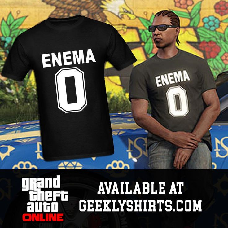 Enema 0 - GTA Online iLL-Gotten Gains DLC T-Shirt. Available at GeeklyShirts.com #grandtheftauto #grandtheftautoonline #gta5 #gtav #grandtheftautov #illgottengains #illgottengains2 #enema0 #geek #nerd #gamer #luicalibre #vanossgaming #playstation4 #ps4 #onlinegaming #youtuber #tshirt #forsale #spreadshirt #GeeklyShirts