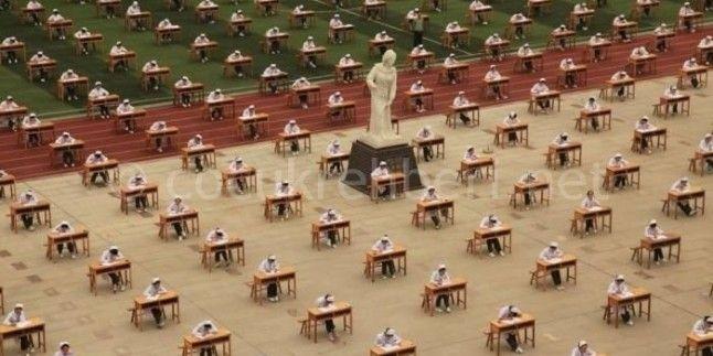 Çinde Sınav Anı