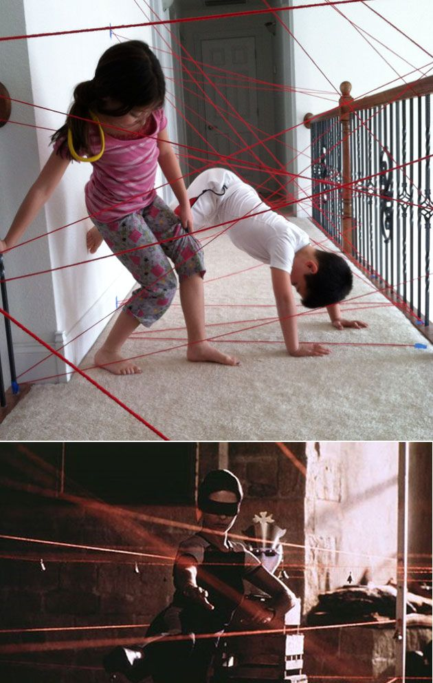 incredible toy ideas 7-ideas-to-play-DIY-handmade-toys-laser-game