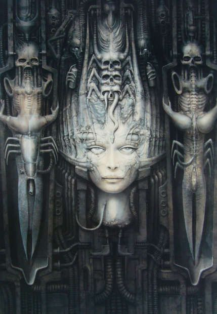 Giger's Li II. My all time favorite. My first tattoo. I've waited 12 years for it.