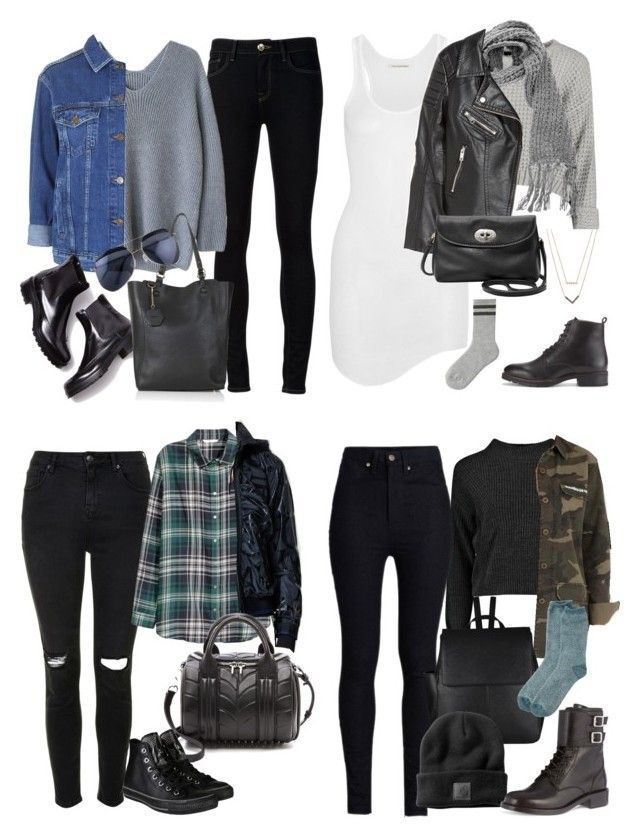 Winter Michael Clifford Inspired Outfits by fivesecondsofinspiration ❤ liked on Polyvore featuring Ström, Topshop, Étoile Isabel Marant, Lalù, HM, FOSSIL, Whistles, Michael Kors, Uniqlo and Boohoo