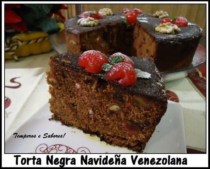 TORTA NEGRA NAVIDEÑA con sabor Venezolano receta completa
