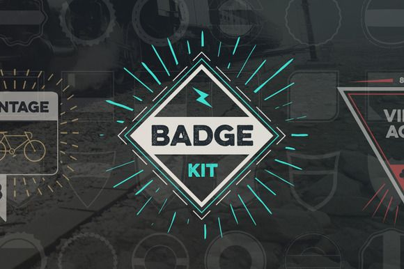 Badge Creator Kit Vol.2 by Tugcu Design Co. on Creative Market
