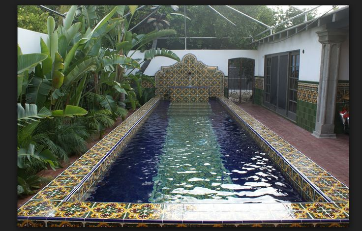 Mexican Tile Pool Great Pools Pinterest Pools Tile
