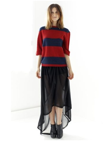 Two Way Street Sweater - mad for stripes - again.