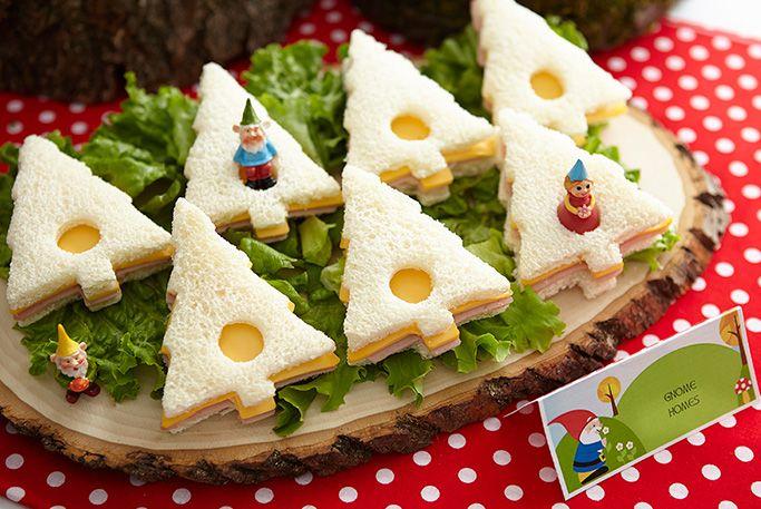 tree shaped sandwiches. simple. cute. cheap.