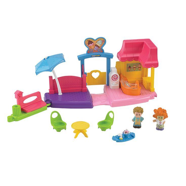Fisher Price Little People Ice Cream Shop | Toys R Us Australia
