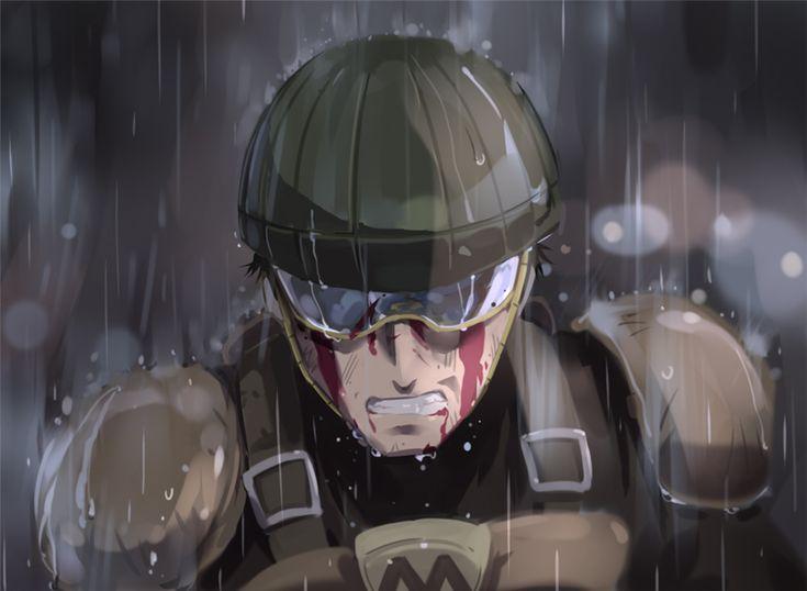 """One-Punch Man - License-less Rider. """"¡Sé que soy débil! ¡Sé mejor que nadie que no tengo oportunidad de vencerte! Pero tengo que intentarlo. ¡No se trata de ganar o perder! ¿¡Si yo no me enfrento a tí, quién lo hará!?"""