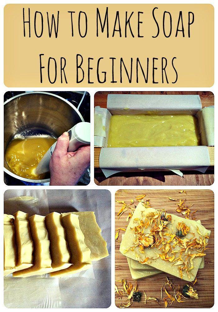 how to make soap recipe